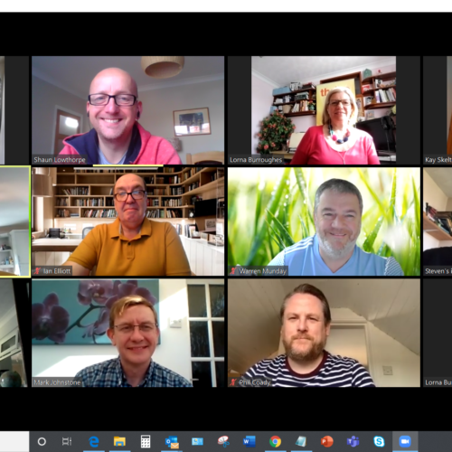 Thrive members now meet online via Zoom